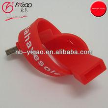 P00012 wrist band usb flash drives