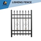 galvanized expanded fence post