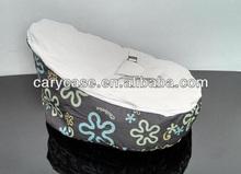 baby bed bean bag, velvet and oxford baby bean bag, pringted velvet baby bean bag