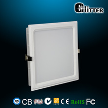 Led panel 30 30cm 15W 120lm/W high brightness Italian design plastic frame TUV,CB,SAA,GS