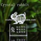 Fashionable crystal animal rabbit
