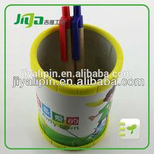Custom magnetic plastic pen holder with pen for gifts