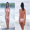 2014 newest open hot sexy girl transparent bikini swimwear photo