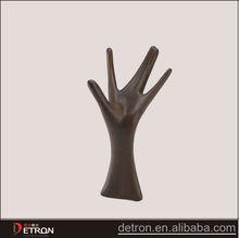 New design wooden display hand