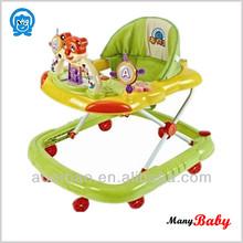 2015 China baby walker/traditional kids' walker/swivel wheels baby walker