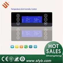 Sf-548 táctil pantalla de temperatura y humedad indicador con sondas
