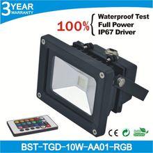RGB 10w indoor led track flood light