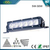 OEM Waterproof shockproof led light bar, 5w per led, 30w led bar light