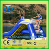 OEM design fast delivery high quality giant inflatable water slide for adults