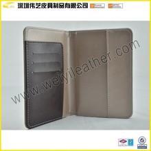 Classical Design Wholesale Passport Holders,Custom PU Leather Card Case