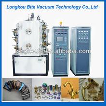 titanium nitride coating equipment/vacuum cooper coating machine/glass bead coating machine