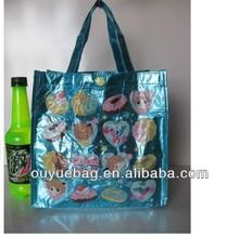 Cheap cartoon non woven lamination bag / tote bag/shopping bag(factory)