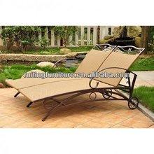 FL002 International Valencia Resin Wicker Double Chaise Lounge
