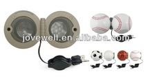 2013 best sells Baseball Speaker,USB mini Speaker music box,Any Ball Shape Speaker