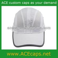Sports cap stylish white taslan cap for man and woman