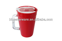 New BPA FREE promotional mug plastic travel mug 680ml with AS handle