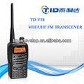 Amateur de voix claire émetteur fm radio cb td-v58 tid