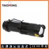 FordEx Group 300lm Mini Cree Led Flashlight Torch Adjustable Focus Zoom Light Lamp LED Light Cree LED Lights YM-8591