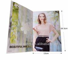 2014 Hot selling advertising brochure samples printing