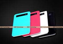 shenzhen fty hot selling mobile portable ultrathin power pack 4000mah