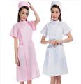 elegante manga curta uniforme médico para enfermeiros
