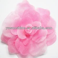 Romantic pink flower garment accessory for Wedding dress