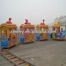 Track attraction for children mini train rides for Christmas amusement park rides
