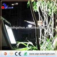 10W MSD03-05 54LED Solar Battery Powered Mini Motion Sensor LED Light