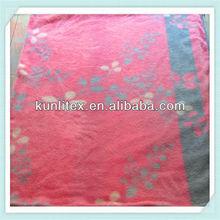 100% Polyester shu velveteen king size quilt cover set