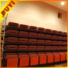 Folding telescopic platform seating theatre seats auditorium furniture telescopic platform seating JY-780
