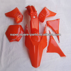 Fairing kits dirt bike parts plastic body kits 450cc ktm
