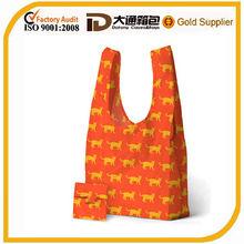 2014 stylish fancy shiny laminated shopping bag