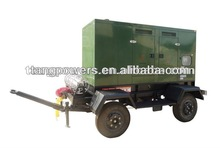 hot sale diesel genset trailer type100kva