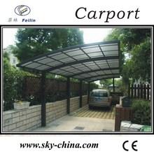 Aluminum Polycarbonate Roof Car canopy pergola carport