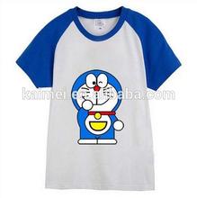 2014 new design Children casual t-shirt pattern printing