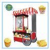 Fashion design popcorn machine with wheels with competitve price