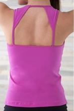 Womens special sexy custom dri-fit fitness tank top