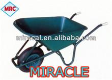 stainless steel handle garbage wheelbarrow wb6404h