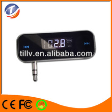 Cellphone/car Fm Transmitter For 3.5Mm