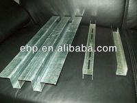 galvanized steel specifical w shape stud