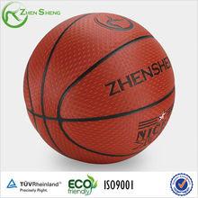 branded basketball ball