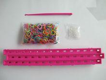 China loom bands 600PCS cra-z-loom Bracelet colorful maker