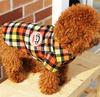Wholesale red lattice dog suit