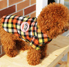Wholesale red lattice dog suit