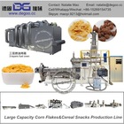 Baked Breakfast Cereal Corn Flakes Making Machine