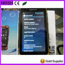 original S9 PTT Radio Walkie talkie MTK6572 rugged android phone