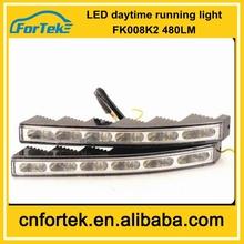 100% waterproof LED DRL usded cars mazda cx-5 daytime running light FK-008K2,large stock,manufacturer wholesale