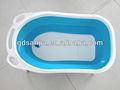De plástico de color bathtub\portable perro perro plegable bañera