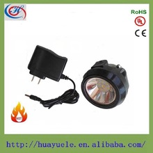 Portable 2.5AH rechargeable cree head lamp for miners,camping,hiking