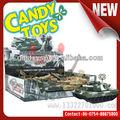 صنع اللعب دبابة عسكرية اللعب الحلوى